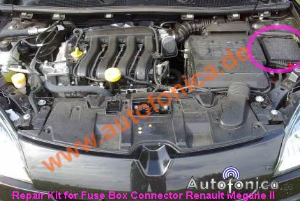 renault megane ii repair kit for headlights (fuse box ppa ... renault megane fuse box fix